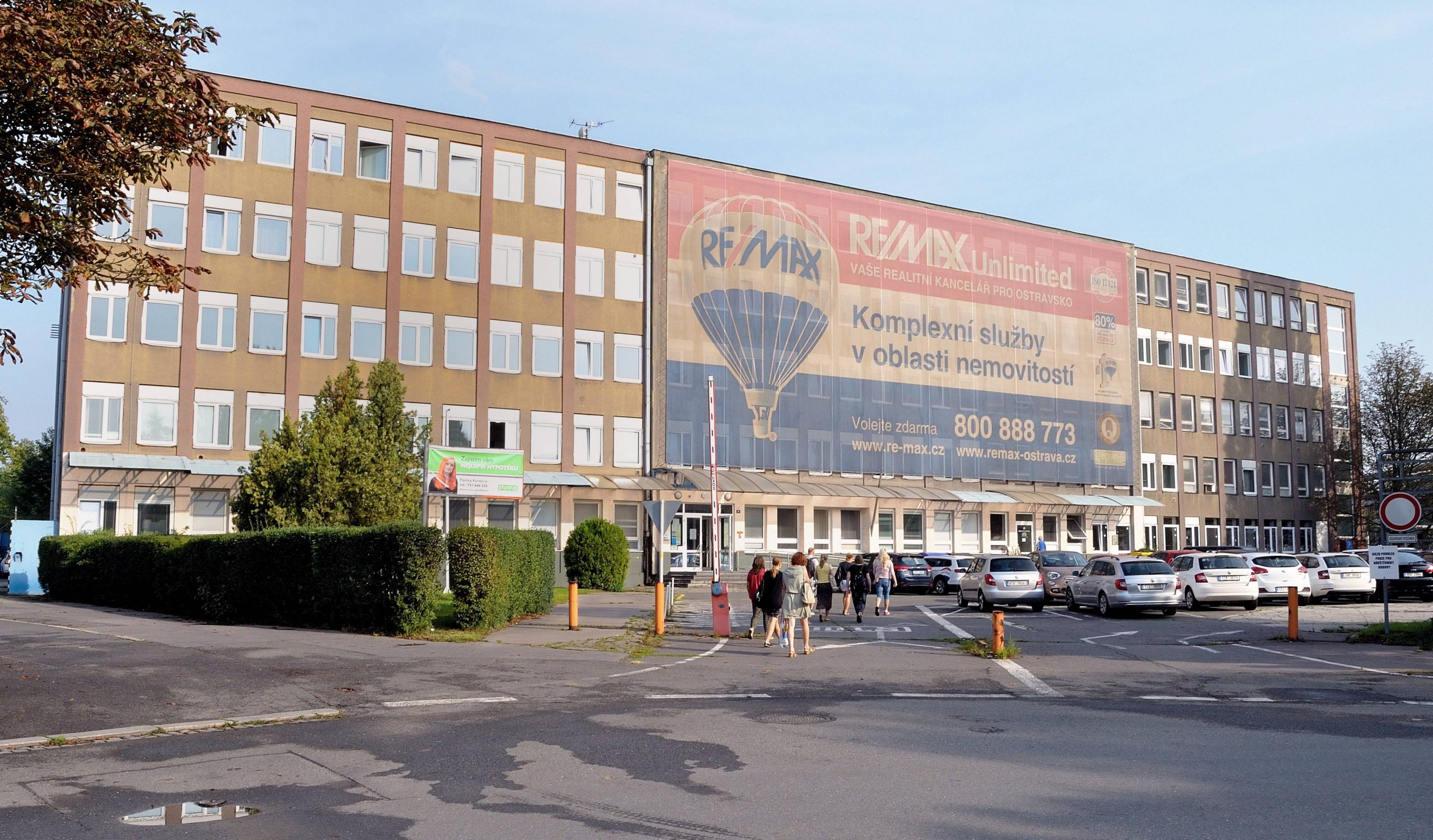SŠ OVA_foto budovy_Štramberská